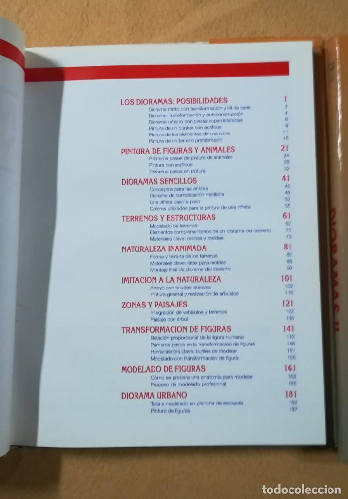 Hobbys: TECNICAS DE MODELISMO Y DIORAMAS - 2 TOMOS DE DIORAMAS - Ediciones Genesis - Foto 2 - 208112561