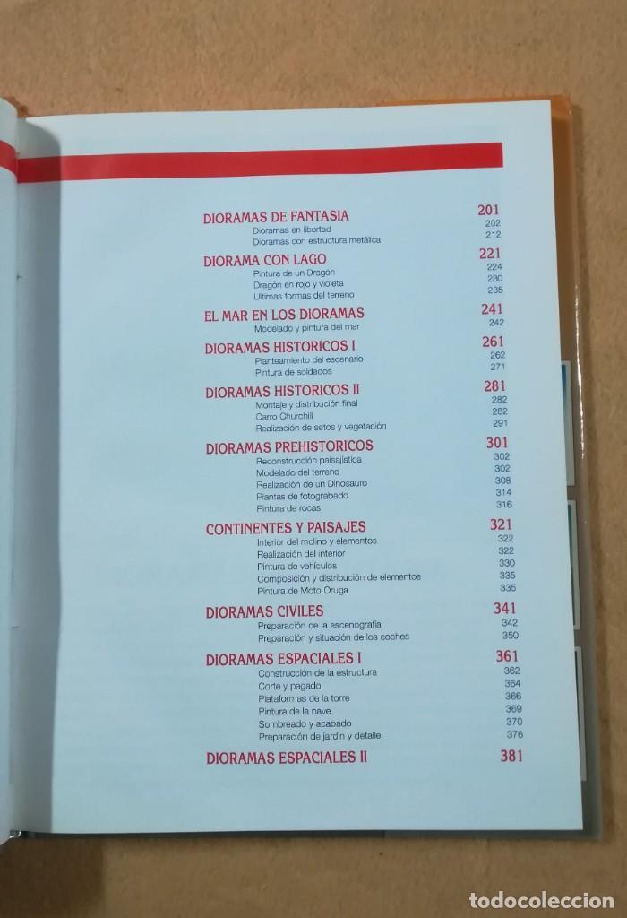 Hobbys: TECNICAS DE MODELISMO Y DIORAMAS - 2 TOMOS DE DIORAMAS - Ediciones Genesis - Foto 3 - 208112561