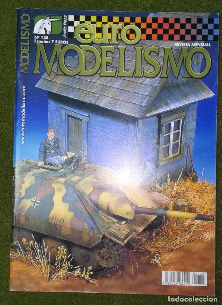 EUROMODELISMO Nº 138 (Juguetes - Modelismo y Radiocontrol - Revistas)