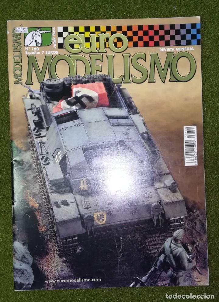 EUROMODELISMO Nº 140 (Juguetes - Modelismo y Radiocontrol - Revistas)