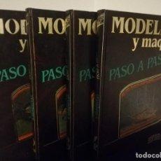 Hobbys: COLECCIÓN MODELISMO Y MAQUETAS PASO A PASO COMPLETA HOBBY PRESS. Lote 210070436