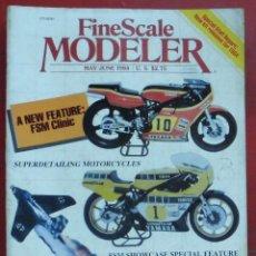 Hobbys: FINE SCALE MODELLER AÑO 1984 MAYO-JUNIO. Lote 210159598