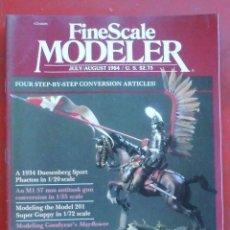 Hobbys: FINE SCALE MODELLER AÑO 1984 JULIO- AGOSTO. Lote 210159660