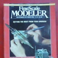Hobbys: FINE SCALE MODELLER AÑO 1984 SEPTIEMBRE-OCTUBRE. Lote 210159730
