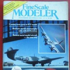 Hobbys: FINE SCALE MODELLER AÑO 1984 NOVIEMBRE-DICIEMBRE. Lote 210159787