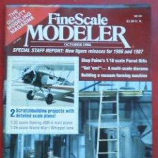 Hobbys: FINE SCALE MODELLER AÑO 1986 OCTUBRE. Lote 210160120