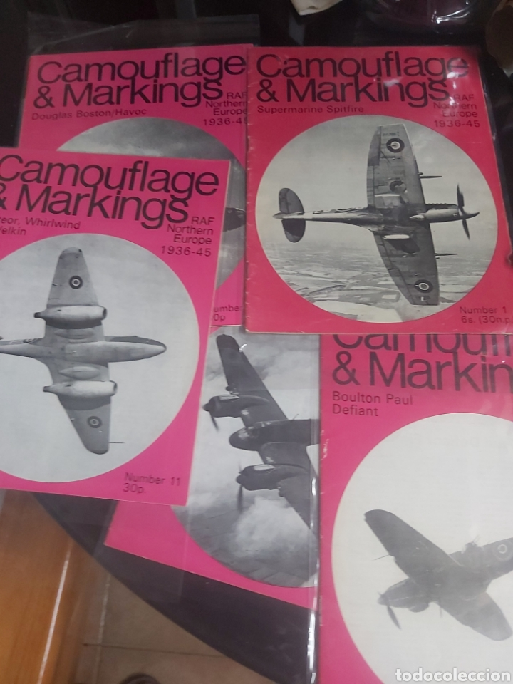Hobbys: Lot 5 magazine Camouflage & Markings Raf Northern europe - Foto 2 - 210264515