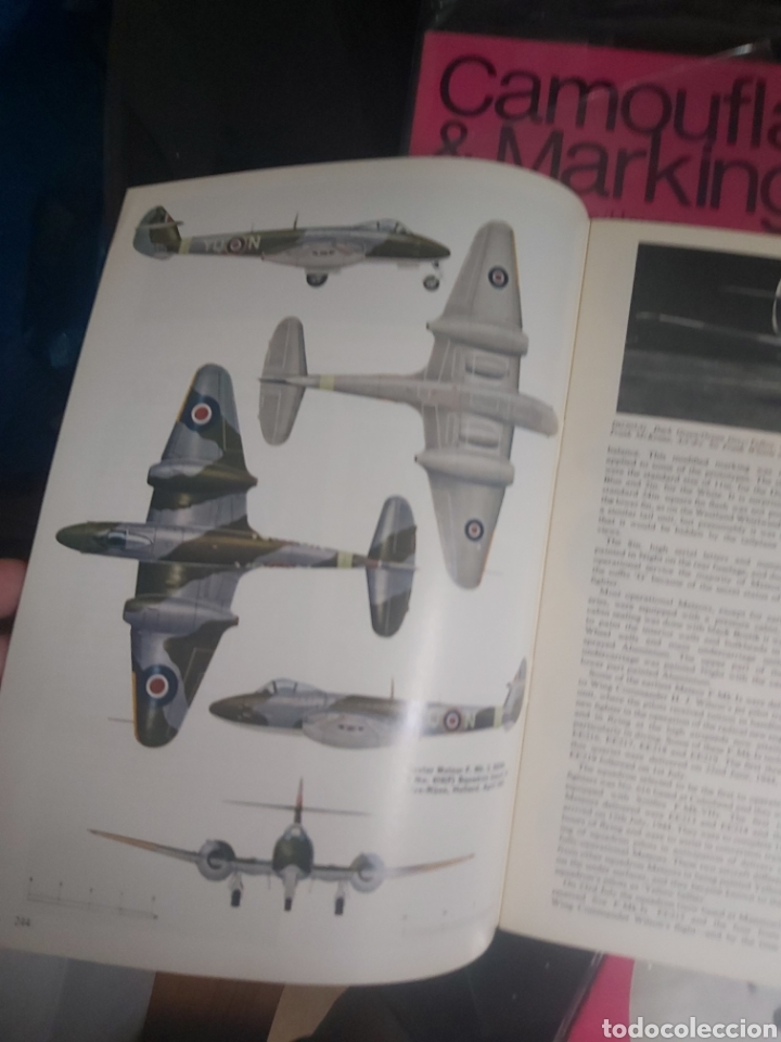 Hobbys: Lot 5 magazine Camouflage & Markings Raf Northern europe - Foto 4 - 210264515