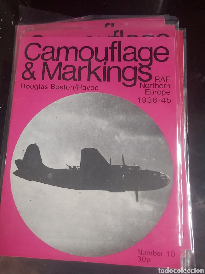 LOT 5 MAGAZINE CAMOUFLAGE & MARKINGS RAF NORTHERN EUROPE (Juguetes - Modelismo y Radiocontrol - Revistas)