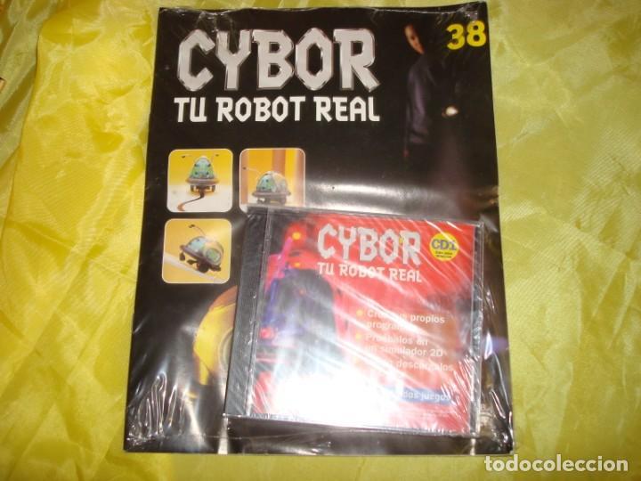 CYBOR. TU ROBOT REAL. FASCICULO Nº 38. PRECINTADO CON EL CD. (Juguetes - Modelismo y Radiocontrol - Revistas)