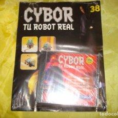 Hobbys: CYBOR. TU ROBOT REAL. FASCICULO Nº 38. PRECINTADO CON EL CD.. Lote 213647995