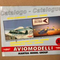 Hobbys: AVIOMODELLI (MANTUA MODEL GROUP). CATÁLOGO MODELISMO AVIONES. 36 PÁGINAS.. Lote 216420062