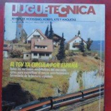 Hobbys: JUGUETETÉCNICA AÑO 1989 MARZO. Lote 218696293