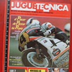 Hobbys: JUGUETETÉCNICA AÑO 1989 ABRIL. Lote 218696353