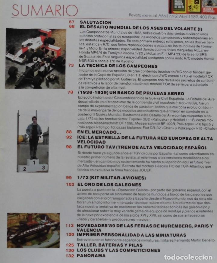 Hobbys: JUGUETETÉCNICA AÑO 1989 ABRIL - Foto 2 - 218696353