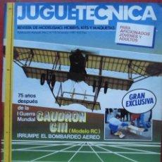 Hobbys: JUGUETETÉCNICA AÑO 1989 DICIEMBRE. Lote 218696405