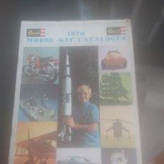 Hobbys: CATALOGO REVELL 1970. Lote 219368131