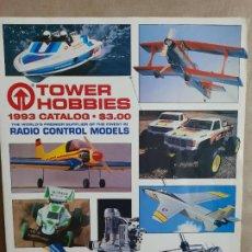 Hobbys: TOWER HOBBIES,CATALOGO DE 1993,GUIDE RC,288 PAGINAS,EN INGLÉS.. Lote 220988673