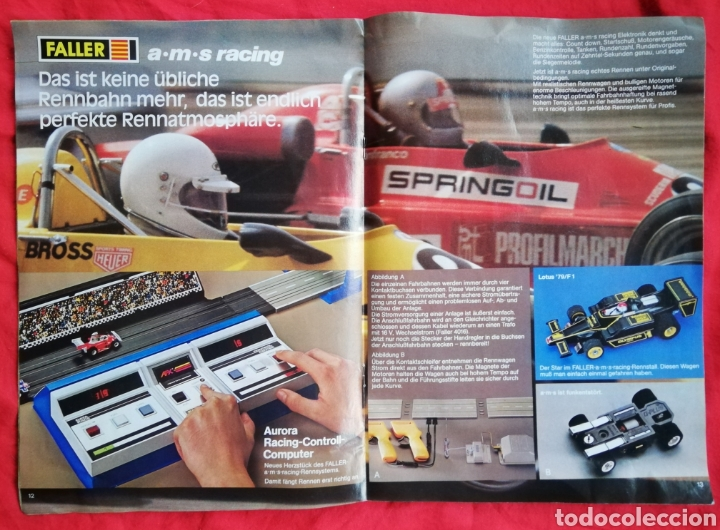 Hobbys: FALLER 79 - ETRAIN ~ PLAYTRAIN ~ a·m·s racing - REVISTA DE 21 PÁGINAS - PJRB - Foto 2 - 222662917
