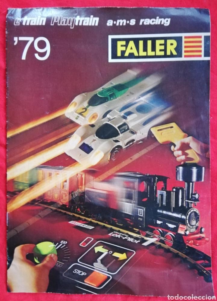 FALLER '79 - E'TRAIN ~ PLAYTRAIN ~ A·M·S RACING - REVISTA DE 21 PÁGINAS - PJRB (Juguetes - Modelismo y Radiocontrol - Revistas)