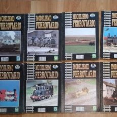 Hobbys: LOTE 11 FASCICULOS MODELISMO FERROVIARIO. GRANADA. TRENES. Nº 25-31-35-36-38-39-40-41-42-45-46. Lote 223225583