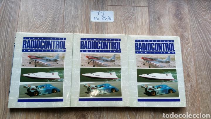 LOTE 3 TOMOS TÉCNICAS DE RADIOCONTROL Y MODELISMO QUORUM 1-2-3 EN EL ESTADO Q SE VE EN LA FOTO (Juguetes - Modelismo y Radiocontrol - Revistas)