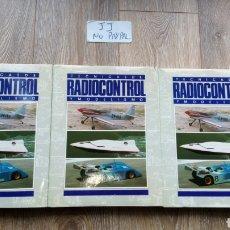 Hobbys: LOTE 3 TOMOS TÉCNICAS DE RADIOCONTROL Y MODELISMO QUORUM 1-2-3 EN EL ESTADO Q SE VE EN LA FOTO. Lote 227140915