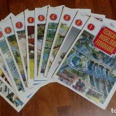 Hobbys: 12 FASCICULOS TECNICAS DE MODELISMO FERROVIARIO. Lote 228499531