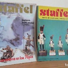Hobbys: STAFFEL, REVISTAS MODELISMO Y MINIATURISMO. Lote 233308005