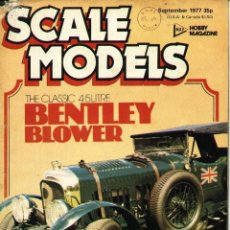 Hobbys: SCALE MODELS AÑO 1977 SEPTIEMBRE. Lote 233828275