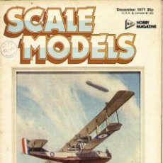 Hobbys: SCALE MODELS AÑO 1977 DICIEMBRE. Lote 233829420