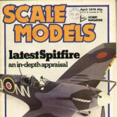 Hobbys: SCALE MODELS AÑO 1978 ABRIL. Lote 233833325