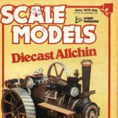 Hobbys: SCALE MODELS AÑO 1978 JUNIO. Lote 233834240