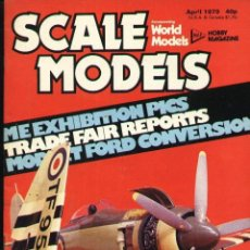Hobbys: SCALE MODELS AÑO 1979 ABRIL. Lote 233836775