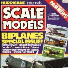 Hobbys: SCALE MODELS AÑO 1980 OCTUBRE. Lote 233837550
