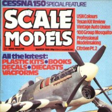 Hobbys: SCALE MODELS AÑO 1981 MARZO. Lote 233950215