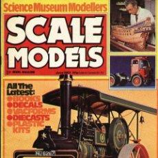 Hobbys: SCALE MODELS AÑO 1981 JUNIO. Lote 233950250