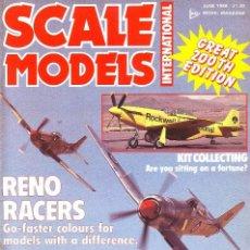 Hobbys: SCALE MODELS AÑO 1986 JUNIO. Lote 233999045
