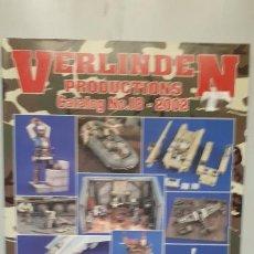 Hobbys: CATALOGO VERLINDEN AÑO 2002. Lote 236089500