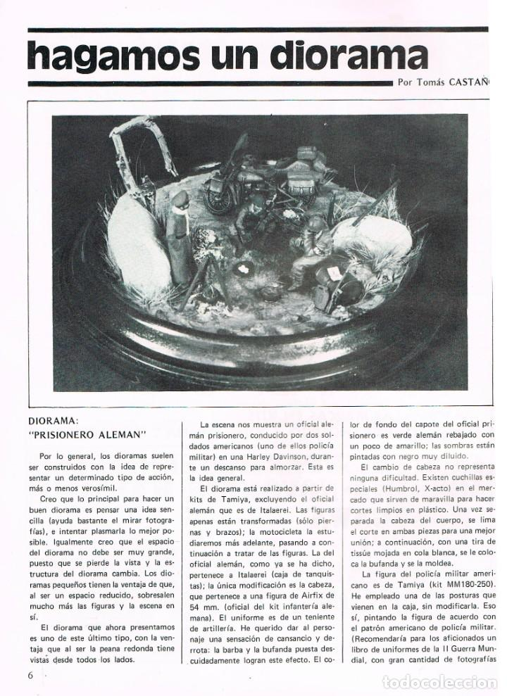 Hobbys: MAQUETA, revista técnica del miniaturista. nº 2. 1978, 60 páginas, ver contenido y ejemplo interior - Foto 3 - 240427295