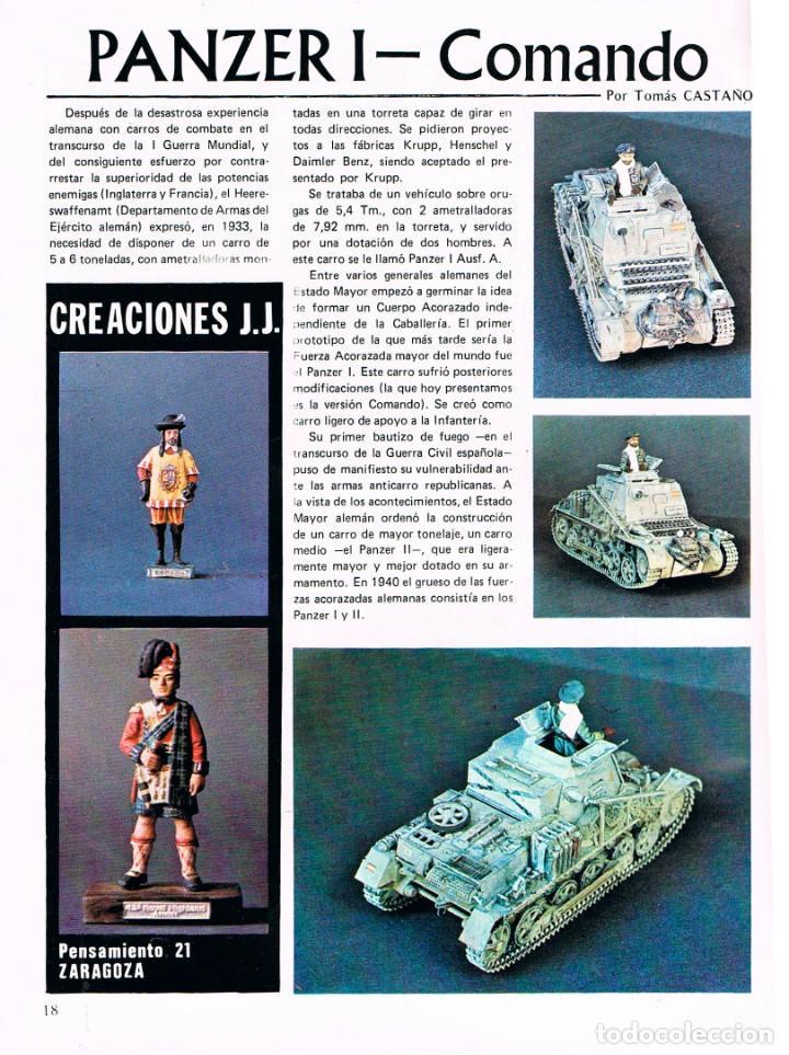 Hobbys: MAQUETA, revista técnica del miniaturista. nº 2. 1978, 60 páginas, ver contenido y ejemplo interior - Foto 6 - 240427295