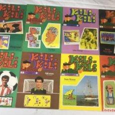 Hobbys: LOTE DE TEBEOS DE LA COLECCIÓN KILI-KILI DE FINALES DE LOS AÑOS 70.. Lote 241657640
