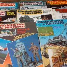 Hobbys: MODELISMO E HISTORIA. NUMEROS 2 AL 9. Lote 241921890