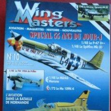 Hobbys: WING MASTER Nº 10. Lote 242430290