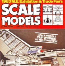 Hobbys: SCALE MODELS AÑO 1983 ABRIL. Lote 243517705