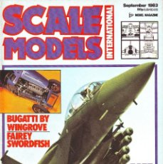 Hobbys: SCALE MODELS AÑO 1983 SEPTIEMBRE. Lote 243517895