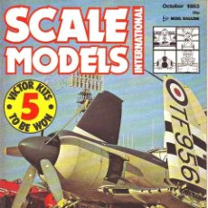 Hobbys: SCALE MODELS AÑO 1983 OCTUBRE. Lote 243517985