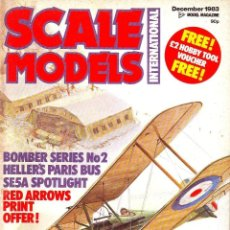 Hobbys: SCALE MODELS AÑO 1983 DICIEMBRE. Lote 243518105