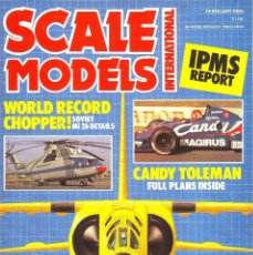 Hobbys: SCALE MODELS AÑO 1985 FEBRERO. Lote 243533925