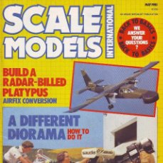 Hobbys: SCALE MODELS AÑO 1985 MAYO. Lote 243535345